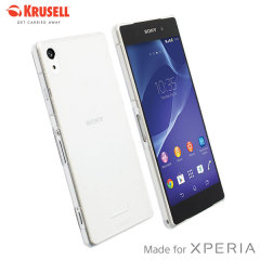 Krusell FrostCover Case for Sony Xperia Z2 - Transparent White