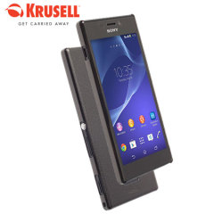 Krusell FrostCover Sony Xperia M2 Case - Transparent Black