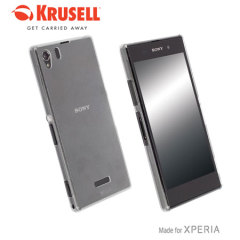 Krusell FrostCover Sony Xperia Z1 Case - Transparent White