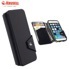 Krusell Kalmar iPhone 6 Flip Wallet Case - Black