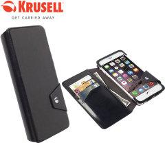 Krusell Kalmar iPhone 6 Plus Flip Wallet Case - Black