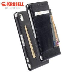 Krusell Kalmar MfX Sony Xperia Z2 WalletCase - Black