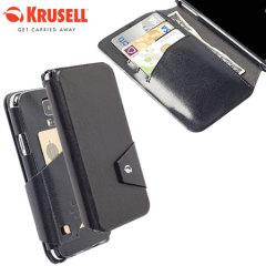 Krusell Kalmar Samsung Galaxy S5 FlipWallet Case - Black