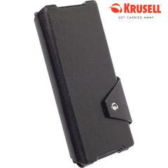Krusell Kalmar Sony Xperia Z2 Flip Wallet Case - Black
