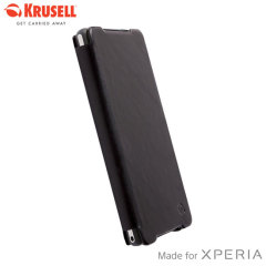 Krusell Kiruna Flipcover for Sony Xperia Z2 - Black