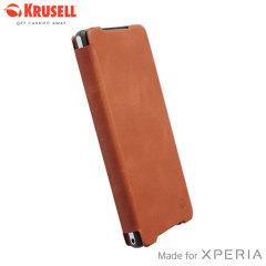 Krusell Kiruna Flipcover for Sony Xperia Z2 - Camel