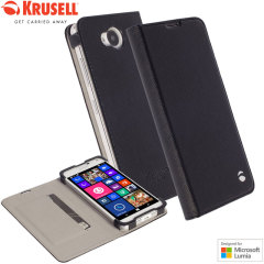 Krusell  Lumia 650 Malmo Folio Case - Black
