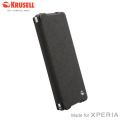 Krusell Malmo FlipCover Case for Sony Xperia Z2 - Black