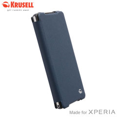 Krusell Malmo FlipCover Case for Sony Xperia Z2 - Blue