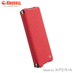 Krusell Malmo FlipCover Case for Sony Xperia Z2 - Red