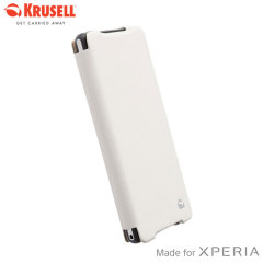 Krusell Malmo FlipCover Case for Sony Xperia Z2 - White