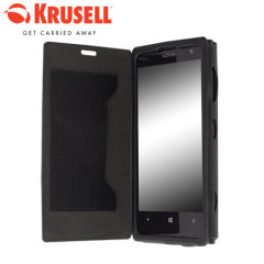 Krusell Malmo Flipcover for Nokia Lumia 1020 - Black