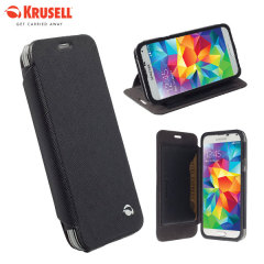 Krusell Malmo FlipCover Samsung Galaxy S5 Mini Wallet Case - Black