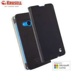 Krusell Malmo Microsoft Lumia 550 Folio Case - Black