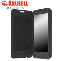 Krusell Malmo Nokia Lumia 625 Flip Cover - Black
