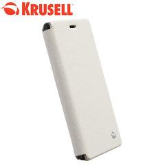 Krusell Malmo Sony Xperia M2 / M2 Aqua FlipCase - White