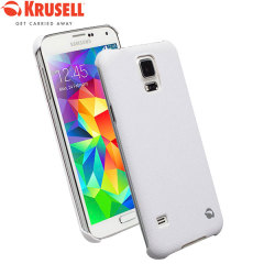 Krusell Malmo Texturecover Case for Samsung Galaxy S5 - White