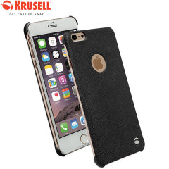 Krusell Malmo TextureCover iPhone 6S Plus / 6 Plus Case - Black
