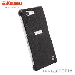 Krusell Malmo Texturecover Sony Xperia Z3 Compact Case - Black