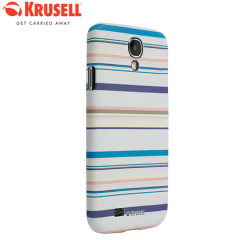 Krusell PrintCover Case for Samsung Galaxy S4 - Blue Stripe