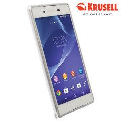 Krusell Sala Bumper Partner Sony Xperia Z3+ Case - Silver