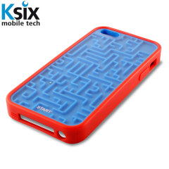 Ksix Retro Games iPhone 5S / 5 Case - Blue / Red