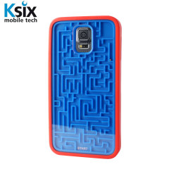 Ksix Retro Games Samsung Galaxy S5 Case - Blue / Red