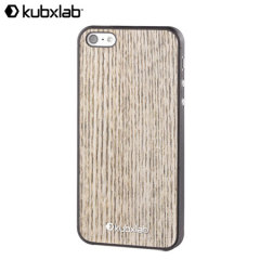 Kubxlab Ultra Thin Case for iPhone 5S / 5 - White Wood