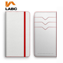 Lab C iPhone 5S/5 Wallet Leather-Style Case  - White