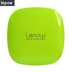 Lepow Moonstone Series 6000mAh Dual USB Power Bank - Green
