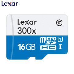 Lexar 16GB MicroSDHC Memory Card - Class 10