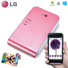 LG Pocket Photo Printer - Pink