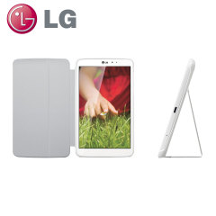 LG QuickPad Case for LG G Pad 8.3 - White