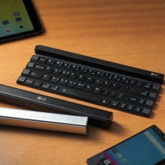 LG Rolly Rollable Portable Wireless Bluetooth Keyboard KBB-700