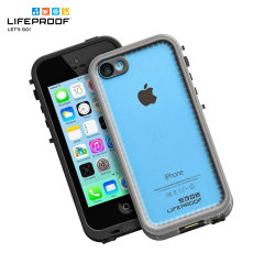 LifeProof Fre iPhone 5C Case - Black / Clear