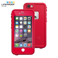 LifeProof Fre iPhone 6 Waterproof Case - Redline Red