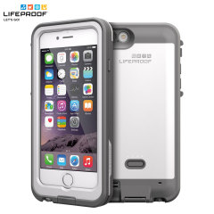 LifeProof Fre Power iPhone 6 Waterproof Battery Case - White