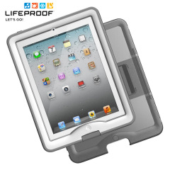 LifeProof Nuud Case for iPad 4 / 3 / 2 - White/Grey