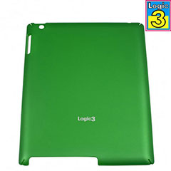 Logic3 Rubberized Hard Shell For iPad 2 - Green