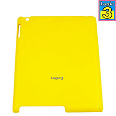 Logic3 Rubberized Hard Shell For iPad 2 - Yellow