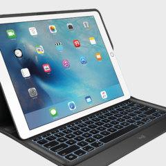 Logitech Create iPad Pro Backlit Keyboard Case - Black