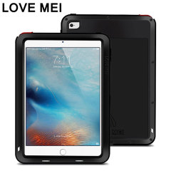 Love Mei Powerful Apple iPad Mini 4 Protective Case - Black