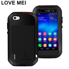Love Mei Powerful Huawei Honor 6 Tough Case - Black
