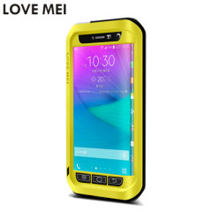 Love Mei Powerful Samsung Galaxy Note Edge Protective Case - Yellow