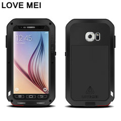 Love Mei Powerful Samsung Galaxy S6 Protective Case - Black