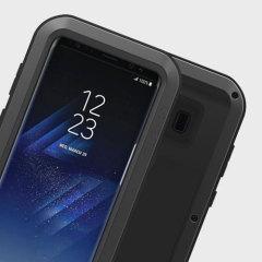 Love Mei Powerful Samsung Galaxy S8 Protective Case - Black