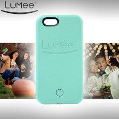LuMee iPhone 6S / 6 Selfie Light Case - Mint Green