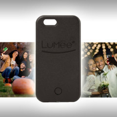 LuMee iPhone SE Selfie Light Case - Black