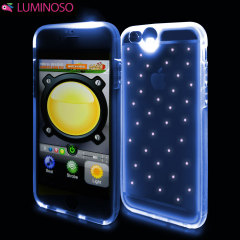 Luminoso Multicolour iPhone 6S / 6 Light Up Case - Stars