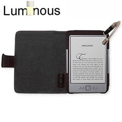 Luminous Case with Light for Amazon Kindle - Black/Black